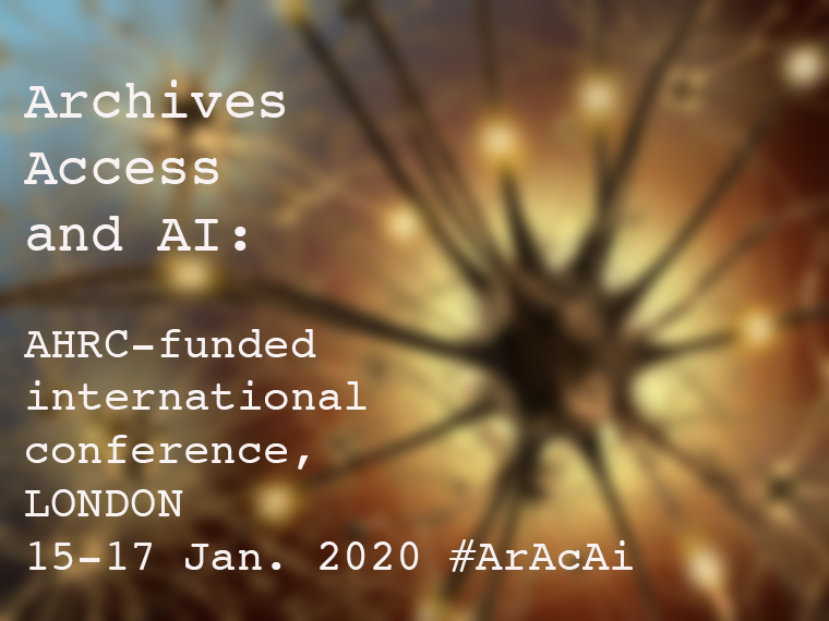 Archives, Access and AI: Working with Born-Digital and Digitised Archival Collections